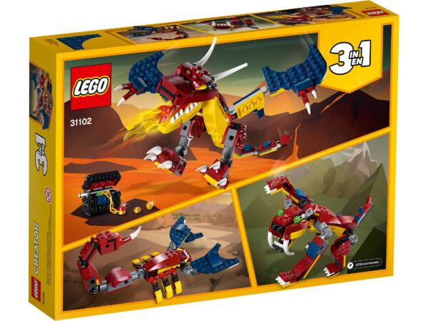 LEGO® Creator Feuerdrache 31102   2