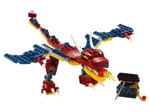 LEGO® Creator Feuerdrache 31102   3