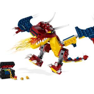 LEGO® Creator Feuerdrache 31102   4