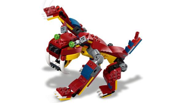 LEGO® Creator Feuerdrache 31102   5