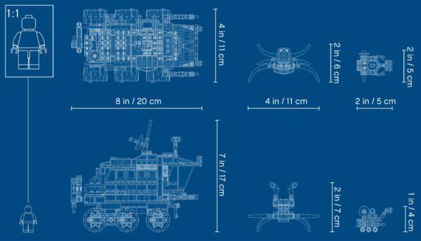 LEGO® Creator Planeten Erkundungs-Rover 31107 | 7