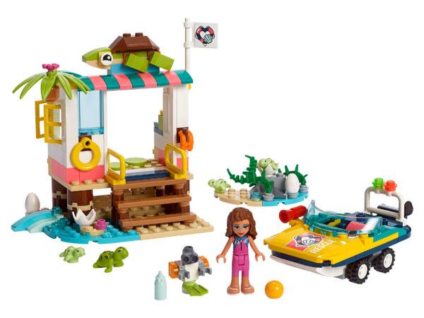 LEGO® Friends Schildkröten-Rettungsstation 41376 | 3