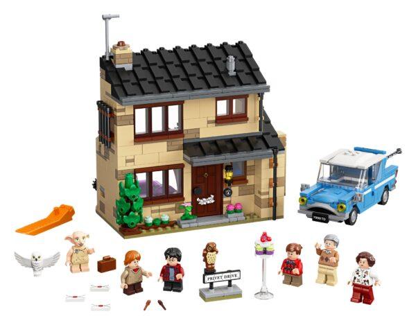 LEGO® Harry Potter Ligusterweg 4 75968   3