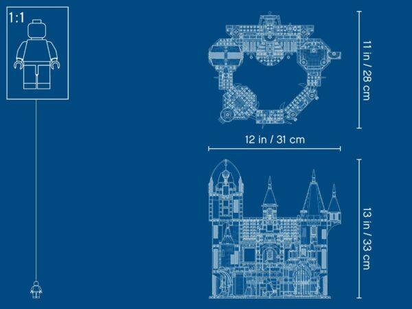 LEGO® Hidden Side Geheimnisvolle Burg 70437 | 7