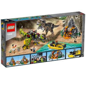 LEGO® Jurassic World T. rex vs. Dino-Mech 75938 | 2