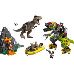 LEGO® Jurassic World T. rex vs. Dino-Mech 75938 | 3