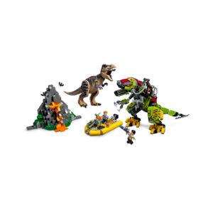 LEGO® Jurassic World T. rex vs. Dino-Mech 75938 | 4
