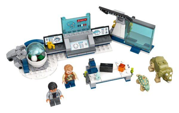 LEGO® Jurassic World Dr. Wus Labor: Ausbruch der Baby-Dinosaurier 75939 | 3