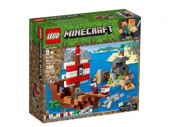 LEGO® Minecraft Das Piratenschiff-Abenteuer 21152   günstig kaufen