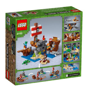 LEGO® Minecraft Das Piratenschiff-Abenteuer 21152   2