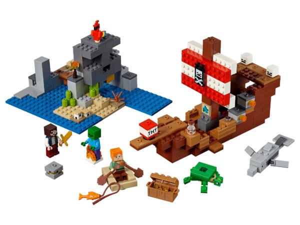 LEGO® Minecraft Das Piratenschiff-Abenteuer 21152   3