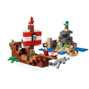 LEGO® Minecraft Das Piratenschiff-Abenteuer 21152   4
