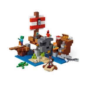 LEGO® Minecraft Das Piratenschiff-Abenteuer 21152   5