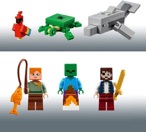 LEGO® Minecraft Das Piratenschiff-Abenteuer 21152   6
