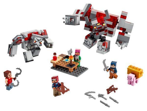LEGO® Minecraft Das Redstone-Kräftemessen 21163 | 3
