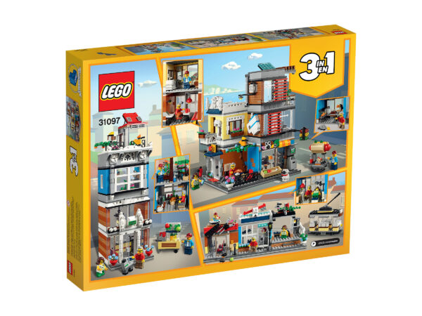 LEGO® Creator Stadthaus mit Zoohandlung & Café 31097   2