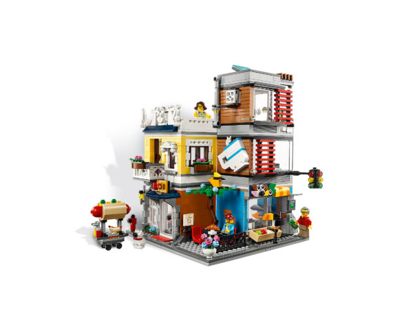 LEGO® Creator Stadthaus mit Zoohandlung & Café 31097   4