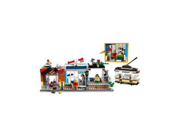LEGO® Creator Stadthaus mit Zoohandlung & Café 31097   6