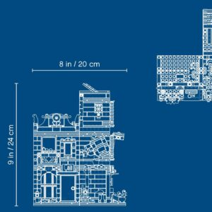 LEGO® Creator Stadthaus mit Zoohandlung & Café 31097   7