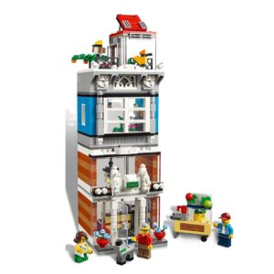 LEGO® Creator Stadthaus mit Zoohandlung & Café 31097   8